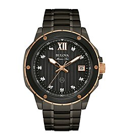Bulova® Men's Grey Watch