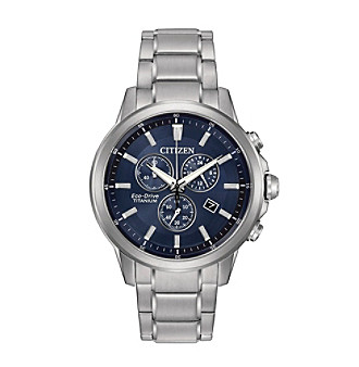 Citizen® Men's Eco-Drive Super Titanium Chronograph