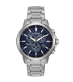 Citizen® Men's Eco-Drive Super Titanium Chronograph Watch