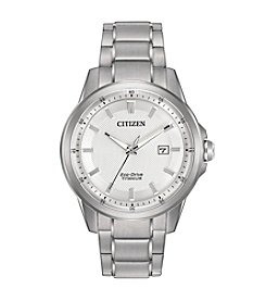 Citizen® Men's Eco-Drive Stainless Steel Day-Date Watch