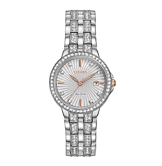 Citizen® Women's Eco-Drive Stainless Steel Silhouette