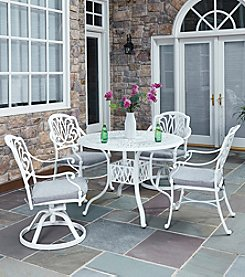 Home Styles® Floral Blossom White 5-pc. Dining Set