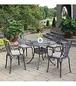 Home Styles® Largo 5-pc. Straight Legged Dining Set with Cushions