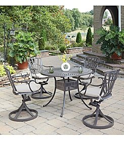 Home Styles® Largo 5-pc. Swivel Chair Dining Set with Cushions