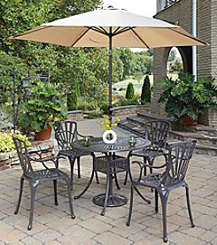 Home Styles® Largo 5-pc. Straight Legged Dining Set with Umbrella