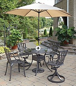 Home Styles® Largo 5-pc. Mixed Chair Dining Set with Umbrella