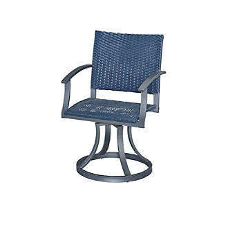 Home Styles® Stone Veneer Collection Outdoor Swivel Chai
