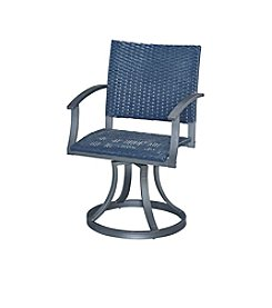Home Styles® Stone Veneer Collection Outdoor Swivel Chair