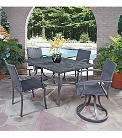 Home Styles® Stone Veneer 5-pc. Mixed Chair Dining Set