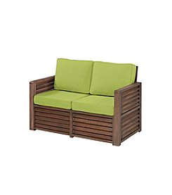 Home Styles® Barnside Love Seat with Green Apple Cushions