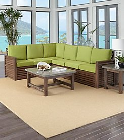 Home Styles® Barnside 3-pc. Set with Green Apple Cushions