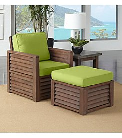 Home Styles® Barnside 3-pc. Seating Set with Green Apple Cushions