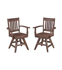 Home Styles® Morocco Swivel Arnchair Pair