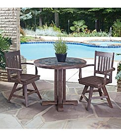 Home Styles® Morocco 3-pc. Armchair Dining Set