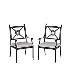 Home Styles® Athens Set of Armchairs with Cushion