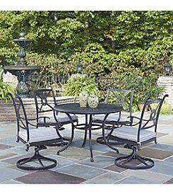 Home Styles® Athens 5-pc. Swivel Chair Dining Set