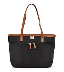GAL Nylon Double Zip Tote
