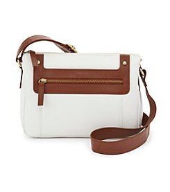 GAL Leather Two Tone Camera Crossbody