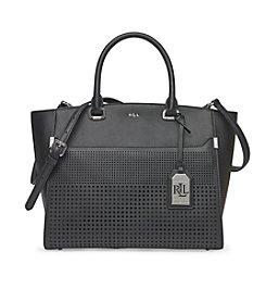 Lauren Ralph Lauren® Sutton Cutout Leather Tote