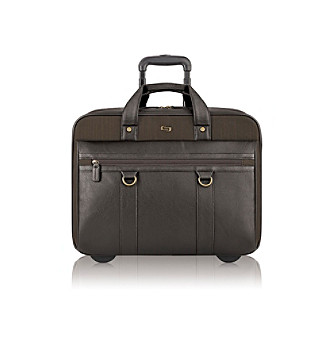 "Solo® 17.3"" Bradford Rolling Briefcase"