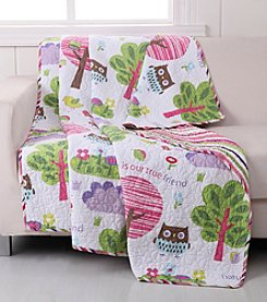 Greenland Home® Woodland Girl Throw