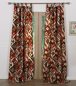 Greenland Home® Folk Festival Window Curtain