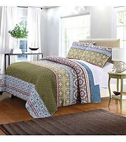 Greenland Home® Shangri-La Quilt Set