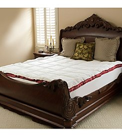 Downton Abbey® Big & Soft Floral Quilted Fiberbed