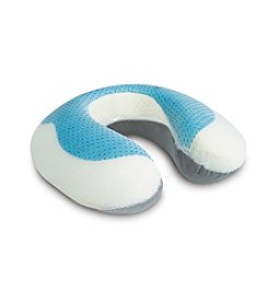 Arctic Sleep™ by Pure Rest™ Cool-Gel Memory Foam U-shaped Neck Support Pillow