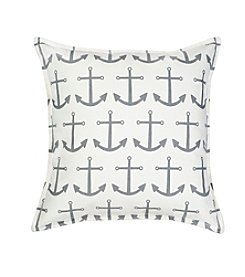 Greendale Home Fashions Anchor Repeat Decorative Pillow