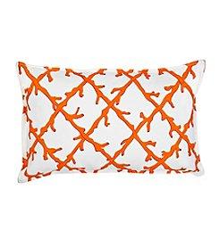 Greendale Home Fashions Lattice Oblong Decorative Pillow