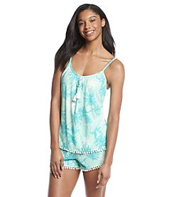 PJ Couture® Printed Tank Pajama Set