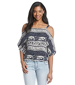 Hippie Laundry Cold Shoulder Top