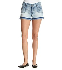 Wallflower® Cargo Pocket Denim Shorts