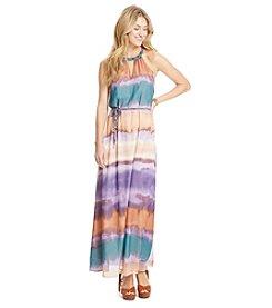 Jessica Simpson Tie Dye Maxi Dress