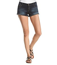 Hippie Laundry Frayed Hem Denim Shorts