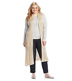 Skylar & Jade™ Plus Size Maxi Sweater Cardigan