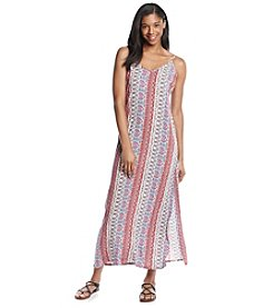 Pink Rose® Printed Maxi Dress
