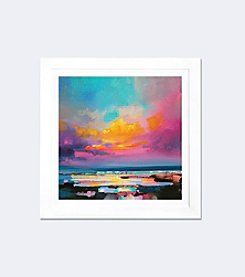 iCanvas Diminuendo Sky Study II by Scott Naismith White Framed Fine Art Paper Print