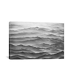 iCanvas Ocean Mountains by Ben Heine Canvas Print