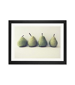 iCanvas Take Four by Lupen Grainne Black Framed Fine Art Paper Print