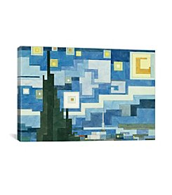 iCanvas The Starry Night by Adam Lister Canvas Print