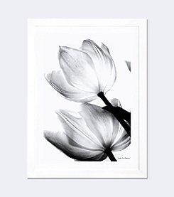 iCanvas Translucent Tulips II by Debra von Swearingen Framed Fine Art Print