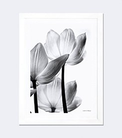 iCanvas Translucent Tulips III by Debra von Swearingen Framed Fine Art Print