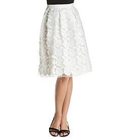 Calvin Klein Textured Flare Skirt