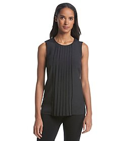 MICHAEL Michael Kors® Sleeveless Pleated Top