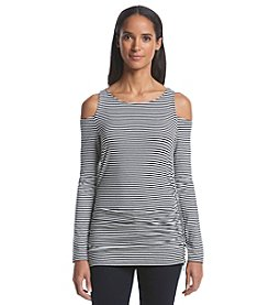 MICHAEL Michael Kors® Long Sleeve Cold Shoulder Top