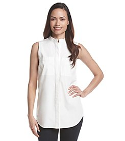 MICHAEL Michael Kors® Sleeveless Button Down Top