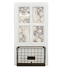 Sheffield Home® 4-Photo White Copper Bin
