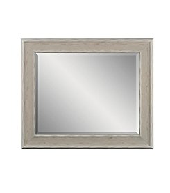 Sheffield Home® White Washed Rectangle Mirror